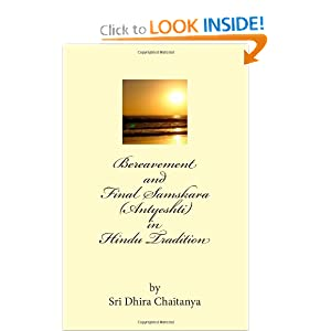 Amazon.com: Bereavement and Final Samskara (Antyeshti) in Hindu ...