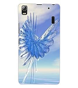 ColourCraft Abstract Image Design Back Case Cover for LENOVO A7000