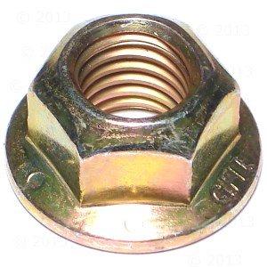 5/8-11 Grade 8 Hex Flange Lock Nut (5 pieces)