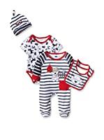 Pitter Patter Baby Gifts Pack x 2 Peleles (Azul Marino / Rojo)