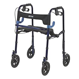 Amazon Com Drive Medical Deluxe Clever Lite Rollator
