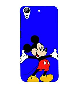 Mickey Back Case Cover for HTC Desire 728g Dual::HTC Desire 728G::HTC Desire 728