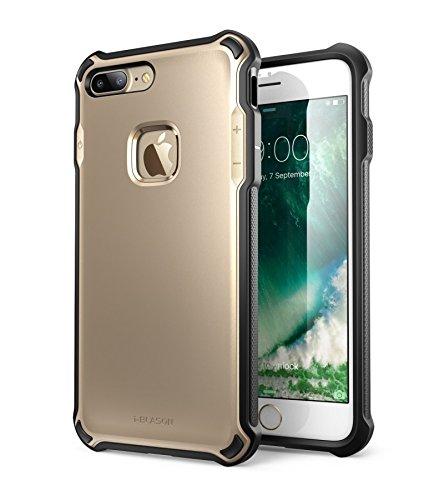 Custodia Protettiva iPhone 7 Plus, i-Blason [Venom] Cover Resistente Doppio Strato [Ultra Sottile] con TPU e Guscio Esterno Rigido per una maggiore protezione per Apple iPhone 7 Plus (Oro)