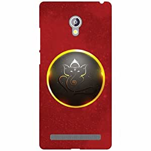 Printland Ganesh Ji Phone Cover For Asus Zenfone 6 A601CG