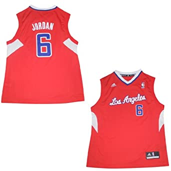 NBA Los Angeles Clippers Jordan #6 Youth Pro Quality Jersey Top by NBA