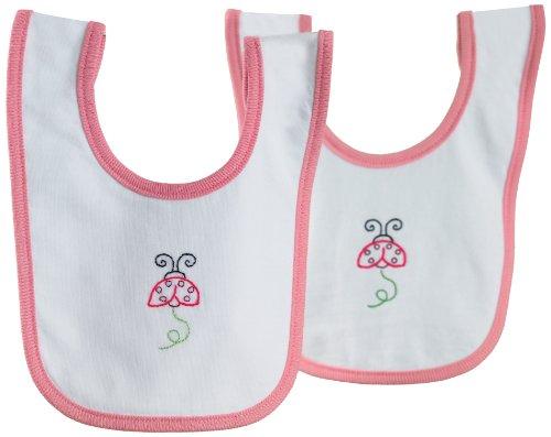 Martha Stewart Crafts Baby Bibs, Pink front-74606