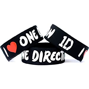 One Direction Wrist Band Single Bracelet for Music Fans Concert Wristband