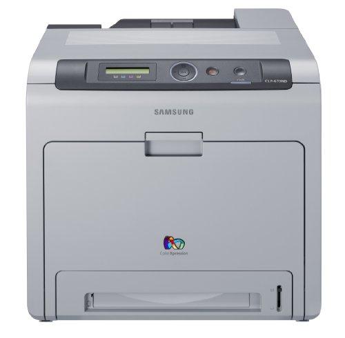 Samsung CLP-670ND - Imprimante - couleur - recto-verso - laser - Legal, A4 - jusqu'à 24 ppm (mono) / jusqu'à 24 ppm (c