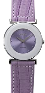 Jowissa Women's J3.063.M Elegance Lavender Dial Watch