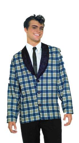 Forum Plaid Jacket Costume, Blue, Standard (Up To 42)