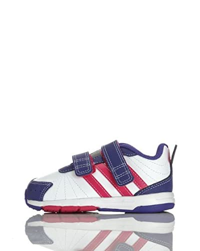 adidas Sneaker Snice 3 Cf I [Bianco/Rosa/Viola]