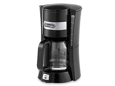 Delonghi ICM15210 1.3 Litre 900 Watts Filter Coffee Maker 10-15 Cup Capacity, Black from Delonghi