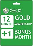 Xbox Live 12+1 Month Gold Membership Card