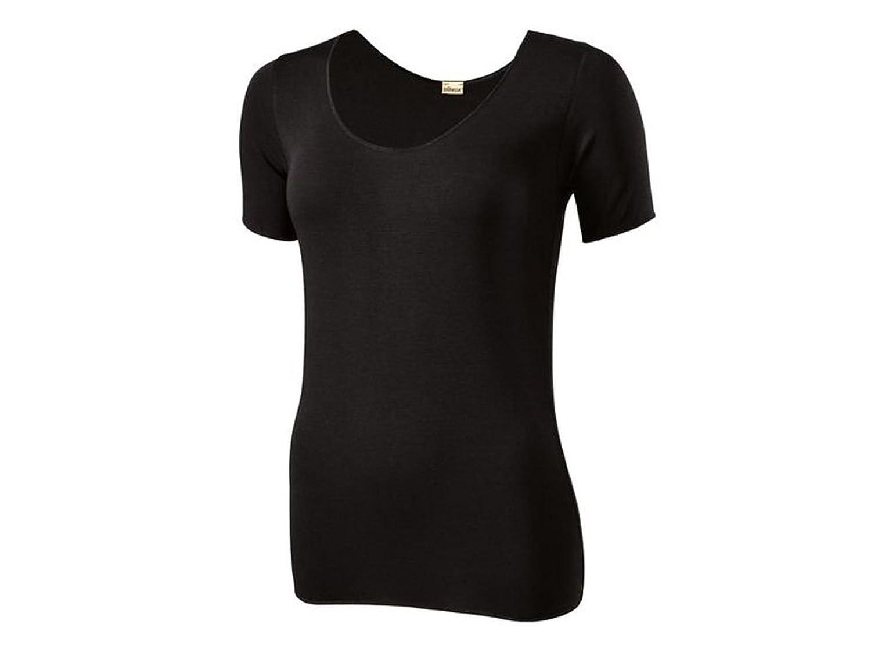 Jolinesse Damen Unterhemd Kurzarm mit Klimafunktion Farbe Schwarz In verschiedenen Größen …