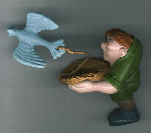 Hunchback Of Notre Dame Collectible 1996 QUASIMODO BIRD CATCHER(McDonalds #8 In Series NEW!!) - 1