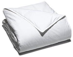 Pike Street 330-Thread Count Swiss Dot Cotton Down Alternative King Comforter