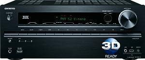 Onkyo TX-NR616 7.2-Channel THX Select2 Plus Certified Network A/V Receiver(Black)