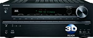 Onkyo TX-NR616 7.2-Channel THX Select2 Plus Certified Network A/V Receiver(Black)