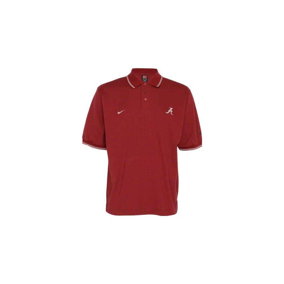 Alabama Crimson Tide Crossing Pattern Polo Shirt On Popscreen