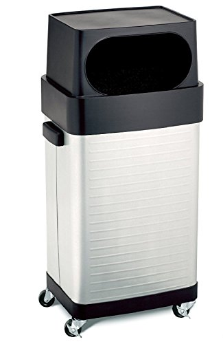 Classics 17-Gallon UltraHD Commercial Stainless Steel Trash Bin (Whiskey Barrel Trash Can compare prices)