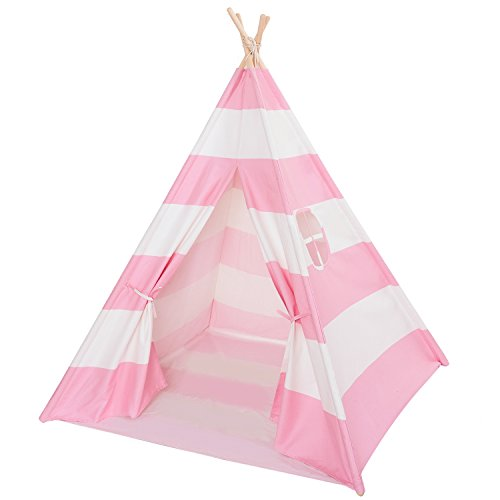 dalosdream-indoor-princess-pink-indian-playhouse-toy-teepee-for-kids