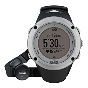 Suunto Ambit 2 HR Watch - Silver - One Size