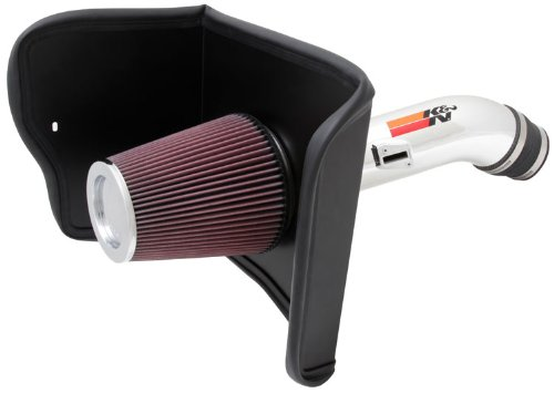 K&N Performance Cold Air Intake Kit 77-9036KP with Lifetime Filter for Toyota Tundra 5.7L V8
