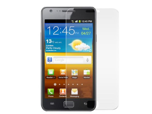 Toughened Tempered Glass Lcd Screen Protector For Samsung Galaxy S2 I9100 I9108