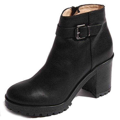 Stivaletto chunky boots Liu-Jo Denise S65071 in pelle nera (40)