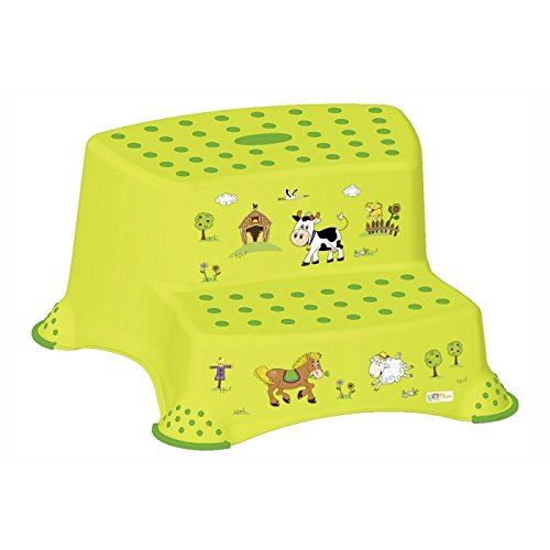 keeeper-10031274063-igor-funny-farm-tritthocker-zweistufig-mit-anti-rutsch-funktion-green-meadow