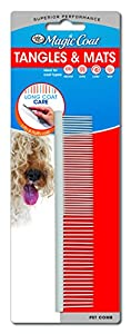 Four Paws Long Coat Small Dog Grooming Comb