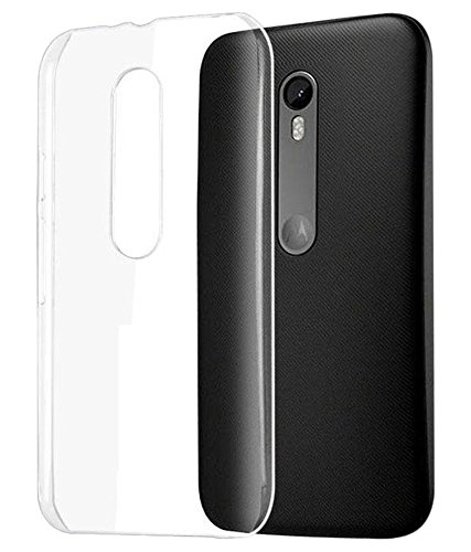 san francisco d1bff 3d8a1 ZYNK CASE TRANSPARENT BACK COVER FOR MOTO G4 PLUS