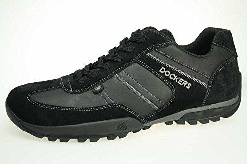 dockers-36ht004-herren-sneakers-schwarz-eu-42