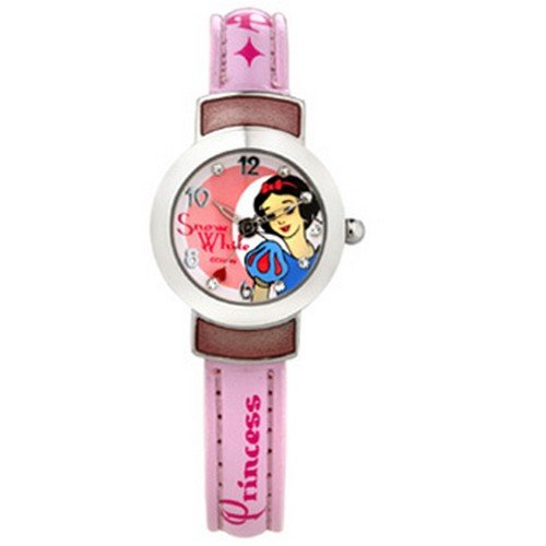 Disney Disney Analog Multi-Color Dial Girls's Watch - 99063 (Multicolor)