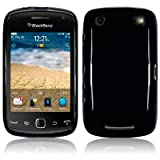Blackberry Curve 9380 TPU Gel Skin Case / Cover - Solid Black PART OF THE QUBITS ACCESSORIES RANGEby TERRAPIN