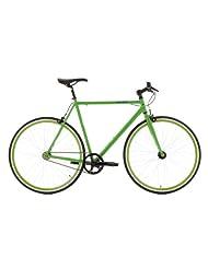 Single Speed Fitness Bike 28 Inch Flip Flop Green FH 53 cm KS Cycling