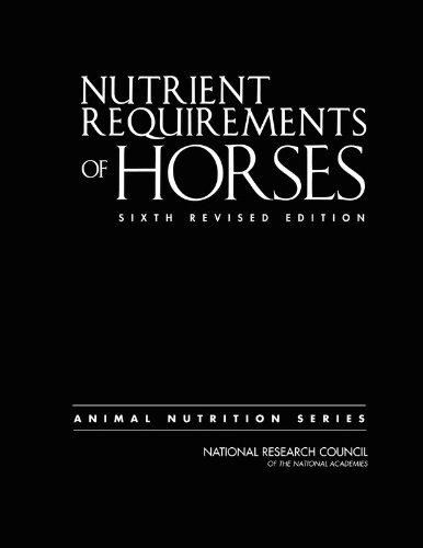 Nutrient Requirements of Horses: Sixth Revised Edition...
