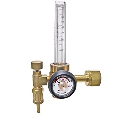 Ameriflame RF2480-320 CO2 Flowmeter Regulator with Single Stage CGA320 Inlet