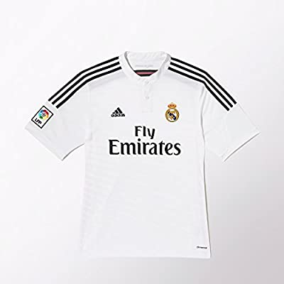 Adidas Real Madrid Home Jersey [WHITE/BLACK/BLAPNK] (S)