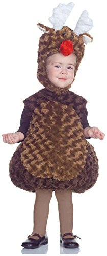 Underwraps Carnival Corp. - Reindeer Toddler/Child Costume