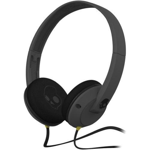 Skullcandy Uprock Premium Wired Headphone - Carbon Grey / One Size