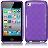 iPod Touch 4 4G 4th Generation Gel Case Cover Funky Purple Design Keep Talking iPod Touch 4 Accessories: Cases, Covers and Skinsby The Keep Talking Shop