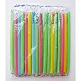 straw 160 Individually Wrapped Bubble Tea Straws