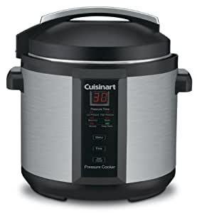Conair Cuisinart CPC-600 6 Quart 1000 Watt Electric Pressure Cooker (Stainless Steel)