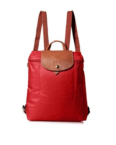 Longchamp Women's Le Pliage Backpack, Bright Red