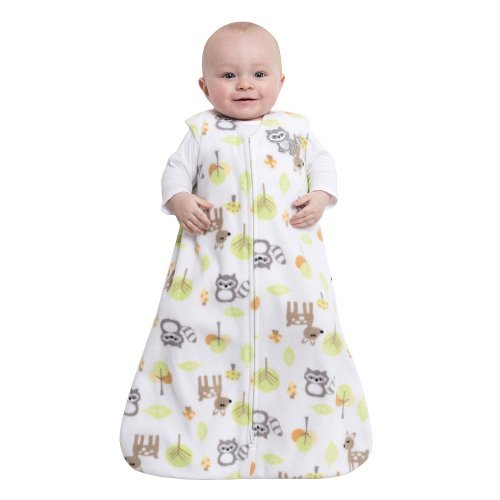 HALO SleepSack Wearable Blanket Microfleece - Woodland Animals (Medium) - 1