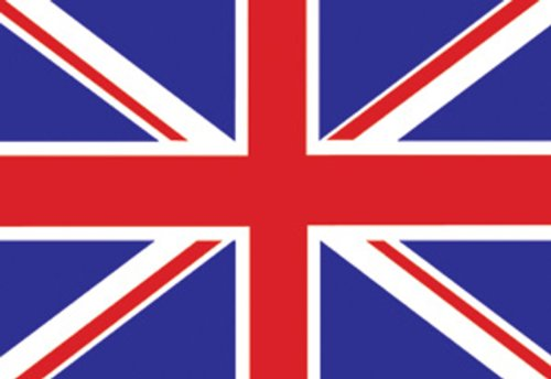 Licenses Products British Flag Sticker - 1