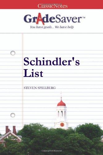 schindler s list the real oskar schindler gradesaver schindler s list