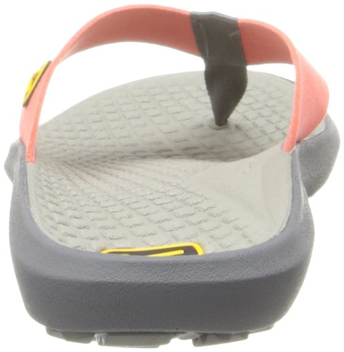 Keen Women's Class 5 Flip Sandal,Hot Coral/Neutral Gray,8 M US