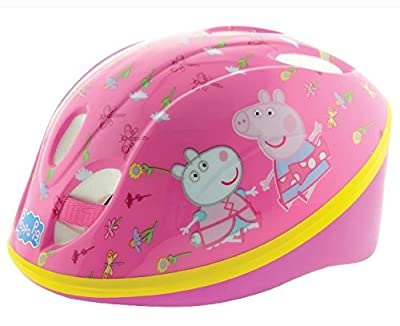 Peppa Pig Girl Safety Helmet, Pink, 48-52-Inch by MV Sports and Leisure Ltd